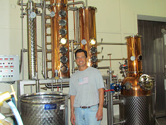 Alex Villicana, proprietor of Villicana Winery and Paso Robles Craft Distilling