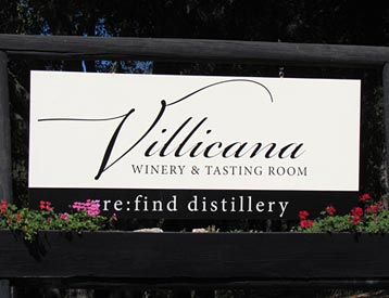 Villicana Winery And Vineyard Paso Robles California